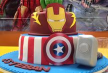 Decoracion fiesta Superheros