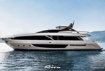Riva - 100' Corsaro New / The majestic spearhead is impossible to ignore; so easy to desire. The very name of the 100' Corsaro hints at a daring and powerful buccaneer, full of the pioneering promise of its predecessors, to the joy and passion of yacht owners and enthusiasts.