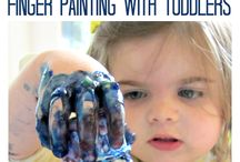 Toddler Taming / Ideas to keep toddler amused and entertained.  Even educated.  Play based learning.