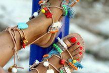 handmaded sandals
