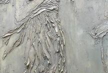 estatuas de yeso