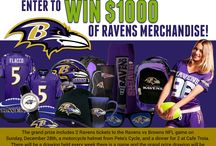 Ravens Football! / #ravens #football  / by GiftCardRescue.com LLC
