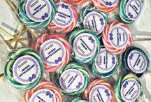 Hediyelik şekerler / Okulun ilk günü için hediyeler