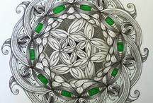 Zentangles-Mandala