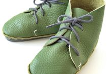 Kids shoe making