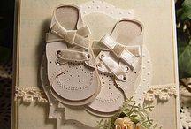 Bebes Niños Scrapbooking / Haz a mano un detalle para un bebé o niño o el recordatorio del bautizo. Algunas bonitas ideas para los más pequeños.