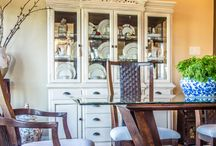Portilla Painted China Cabinets / Painted China Cabinets