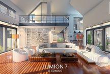 Lumion 7 / Nově vycházející program Lumion 7 - revoluce v tvrobě vizualizací dostává novou tvář.