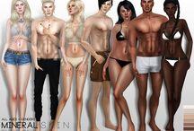 Sims 4 cc skin