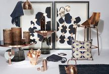 Copper & Navy Interiors / Ideas and Inspiration