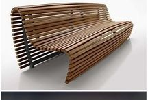 Outdoor cool bench