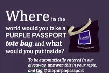 Goodies & Giveaways / by The Purple Passport