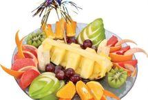 Frukt dekorasjoner