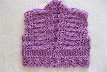 Crochet- Boleros,Vests,Tunics,Tops,  / by Laura Cole