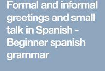 Speaking Spanish