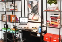 Home Office / Design and decorating ideas for a lovely home office :) / by Maria Palma