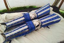 armadura para piernas