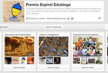 Premio Espiral Edublogs  / Toda la información sobre el Premio Espiral Edublogs. Síguenos en Twitter @edublogsespiral  y #espiraledublogs