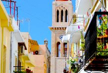 Places I have been to: Greece / Rhodes, Crete and Loutraki as well as trips to Symi, Santorini and Athens.