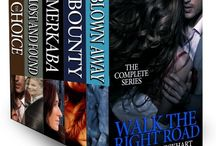 Walk the Right Road: The Complete Collection / All the books in this Sizzling Romantic Suspense Series