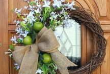 Wreath ideas / by Kerrie Bryant