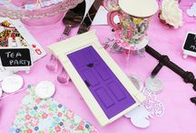 Alice in Wonderland themed party / Alice in wonderland theme party ideas and inspiration