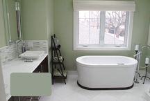New Bathroom?? / bathroom remodel ideas / by Kimberly Witt
