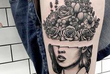 Tatuagem preta