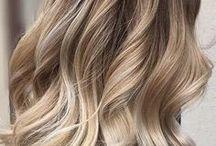Blond włosy metamorfoza