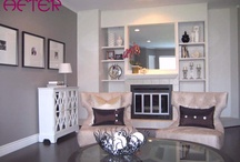 Living Space / Decorating ideas for my living room. / by Liz Heron