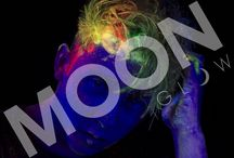 NEON UV HAIR GEL by Moon Glow / Have a look at our spiking glow hair gel! Our BRAND NEW hair gel is UV REACTIVE, check out the photos!