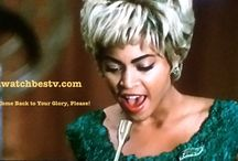 Beyonce / What I most like about Beyonce is that she is not only a good singer and dancer, but she is a good actress, as well.