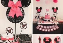 Minnie Mouse Party / Inspiration for a Minnie Mouse Themed party