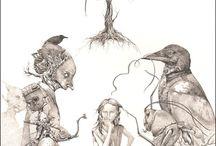 Dark art / The world is Dark