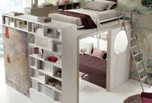 great indoor ideas, space saving and original