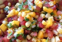 Salsa / Mango corn / by Mary Jamison