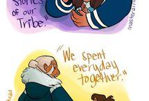 Korra & Aang