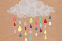 rain rain rain / by Elkie Brown