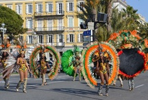 Carnaval de Nice closing ceremonies / On Sunday, March 4, 2012 took place the closing of one of the largest and most prestigious carnivals in the world with Rio and Venice: the #CarnavaldeNice.