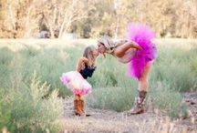 Mommy & daughter photo shoot / Us