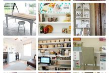 Dream Craft Room Ideas / by PAT LOCKEN