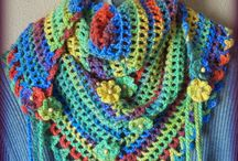 Crochet Accessories / Scarves, shawls, hats, slippers, etc. / by Linda