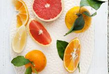 Citrus shades with white