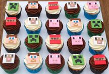 MINECRAFT B DAY PARTY