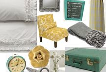 Colour Palette - Grey, Yellow and Teal