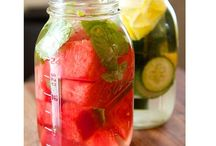 Getränke / Infused water
