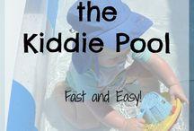 Warm kiddy pool