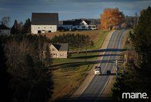 Maine (Aroostook County) / by Lydia Kieffer