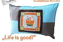 Kissen & Decken / Kissen und Decken, kuschelig und hochwertig