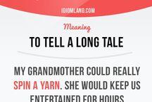 English - idioms
